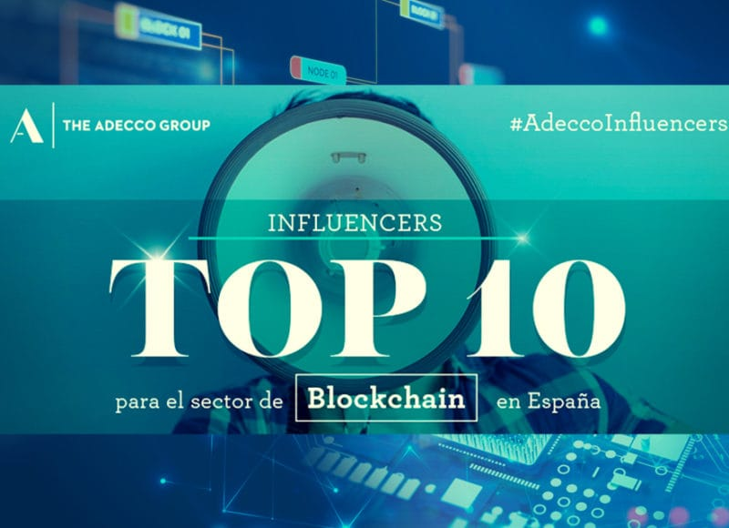 Influencers. Tendencias. Block chain. Twitter.