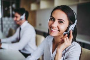 Call Center trabajadores