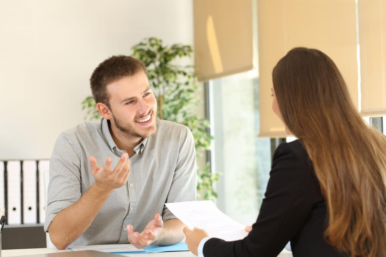 Entrevista promotor ventas